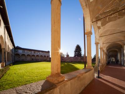 Sede di Sant'Agostino, Chiostro grande