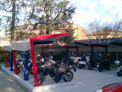 Parcheggio della sede di Caniana