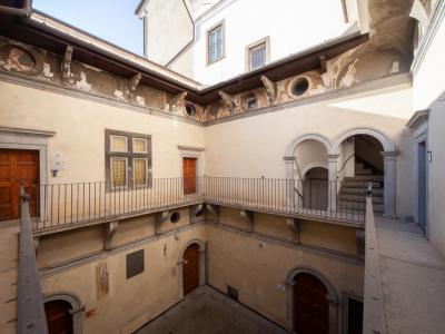 Casa dell'Arciprete - cortile interno