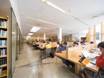 Caniana - interno della Biblioteca