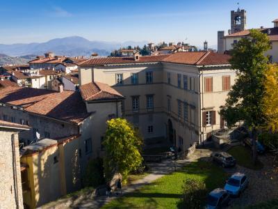 La sede di Salvecchio vista dall'alto