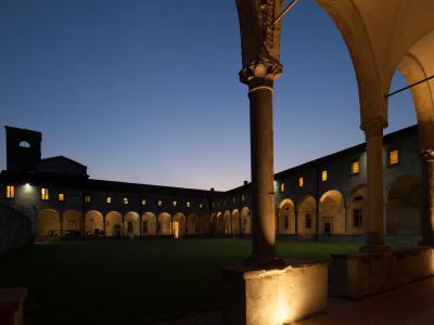 Sant'Agostino, la sede di sera