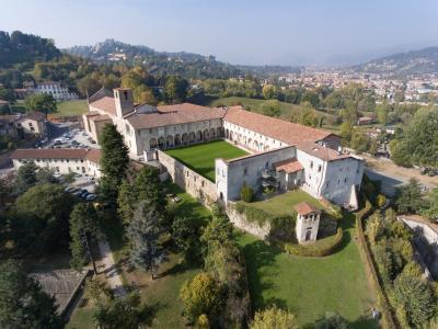 La sede di Sant'Agostino vista dall'alto