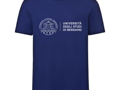 T-shirt 100% cotone biologico, colore blu e grigio € 14,00