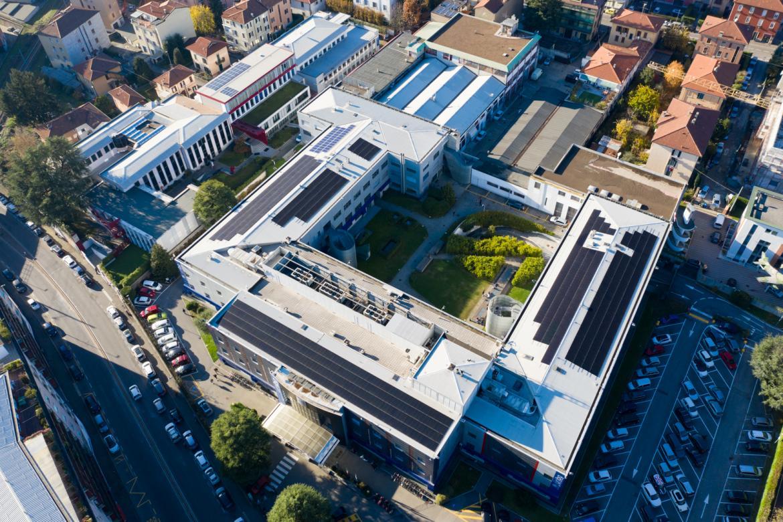 Il campus economico-giuridico visto dall'alto