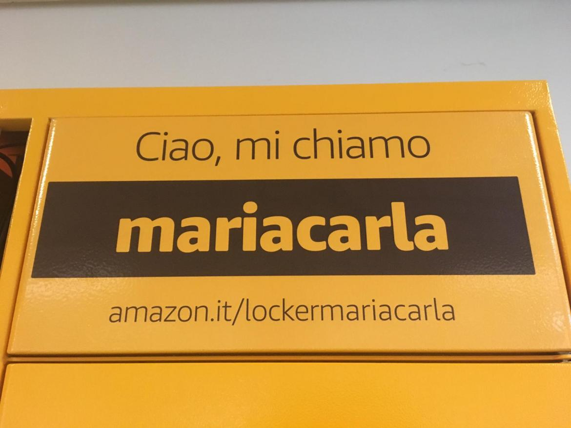 Amazon Locker Caniana mariacarla