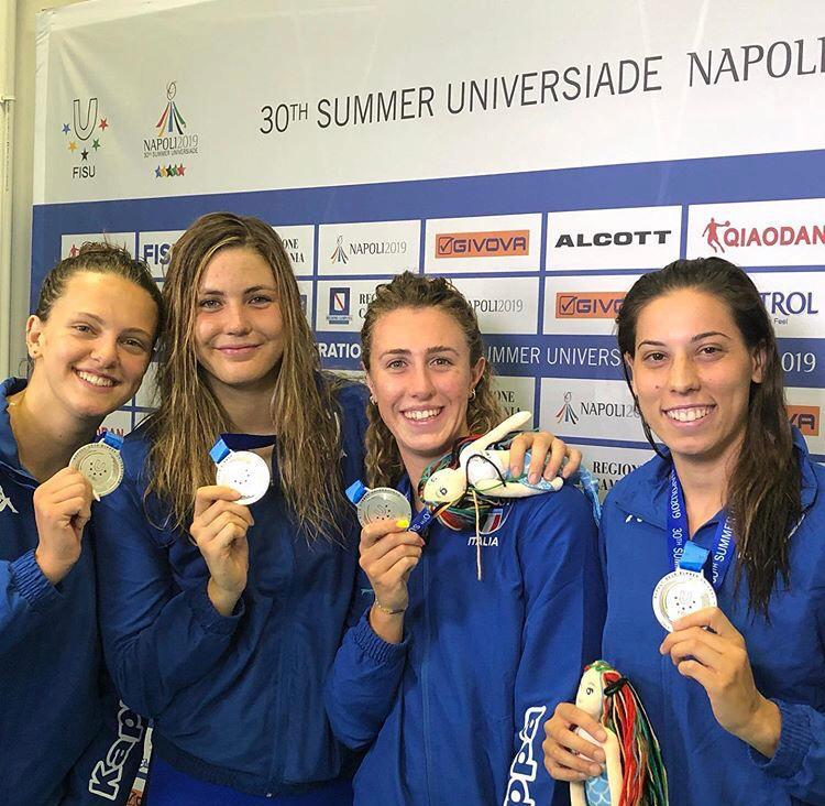 Sara Ongaro Universiadi Napoli