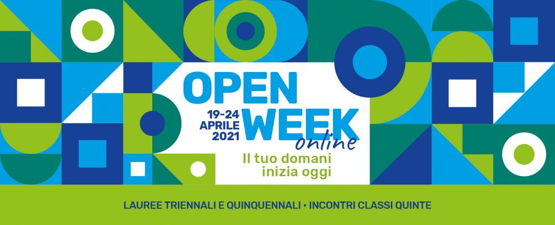 open week 19-24 aprile 2021