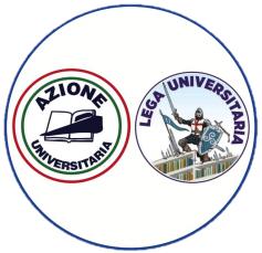 Logo Azione universitaria - Lega universitaria