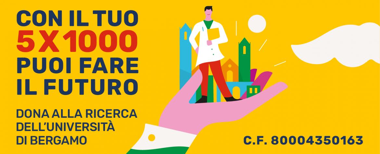 Campagna 5 per Mille Unibg 2020