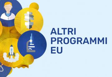 Grafica degli altri programmi di finanziamento EU