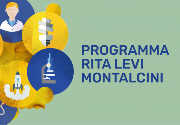 Grafica del progetto Rita Levi Montalcini