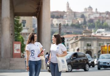 Smarter Citizens - Centro città di Bergamo. Ph. Laura Pietra
