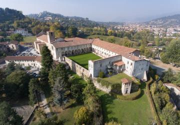 Sede di Sant'Agostino vista dal drone