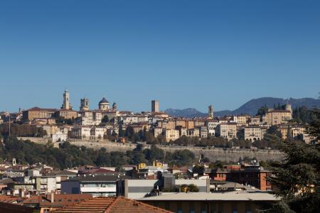 Veduta panoramica di Città Alta